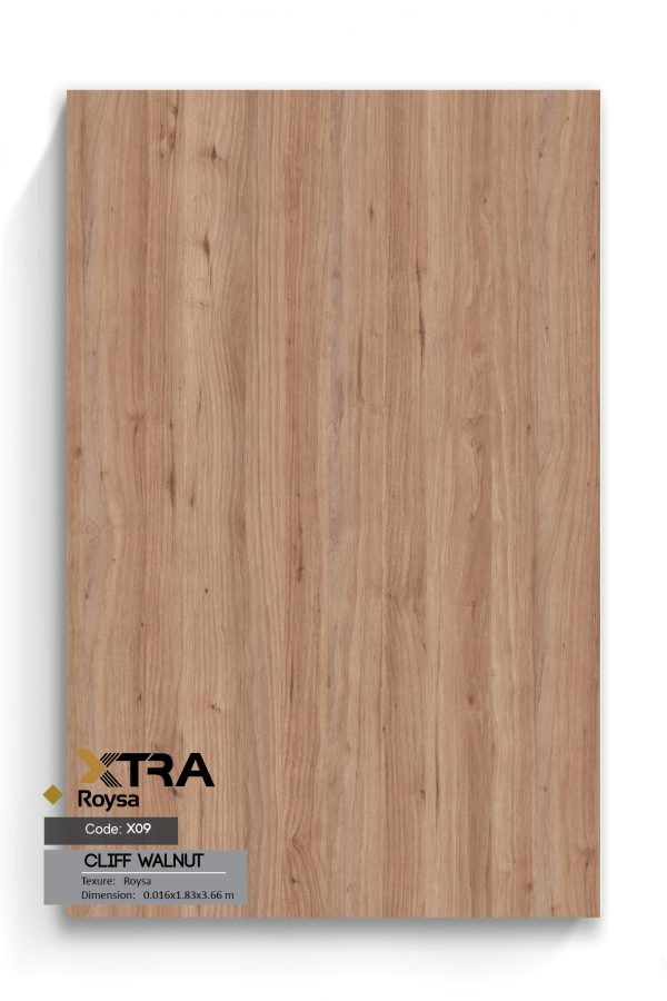 ام دی اف XTRA ROYSA X09 Rockland Walnut Cliff Walnut